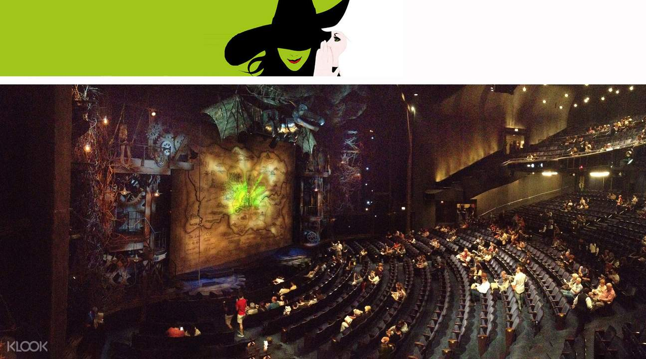 wicked broadway show orchestra ticket